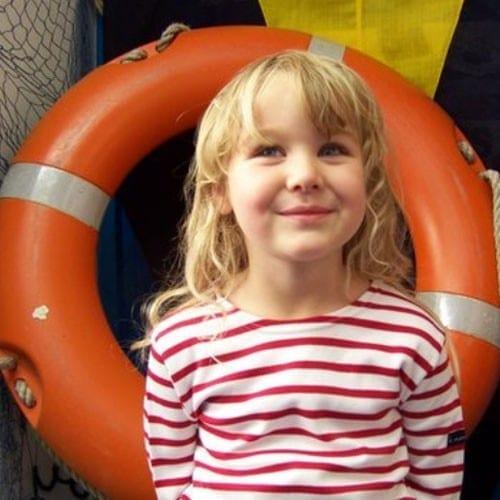 Marinière Enfant du 3 mois au 6 ans