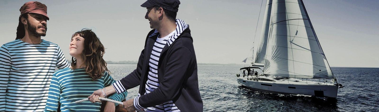 La marine hier - Spécialiste en vêtements marins